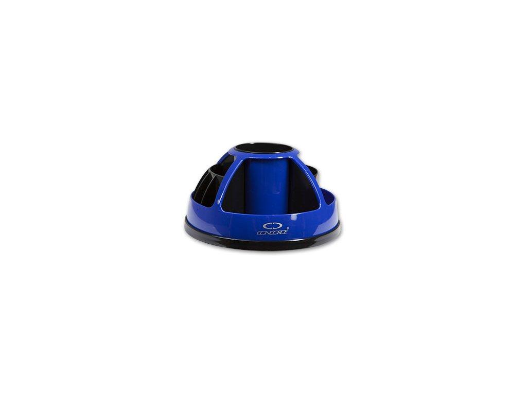 Stojánek na psací potřeby CONCORDE otočný modrý