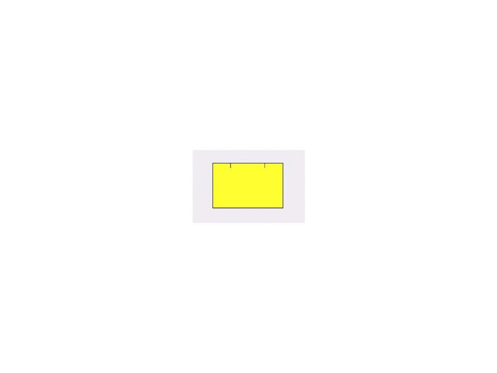 Etikety Contact 25 x 16mm žluté