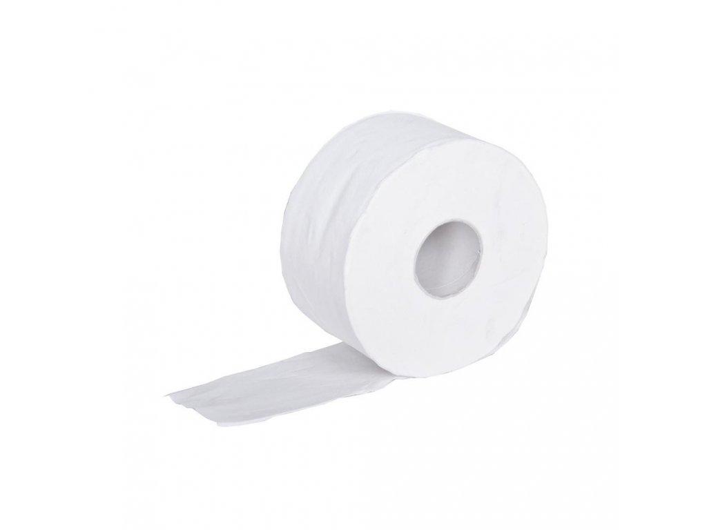 Toaletní papír JUMBO 190 2 vrstvy, bílá Celuloza, návin 110m