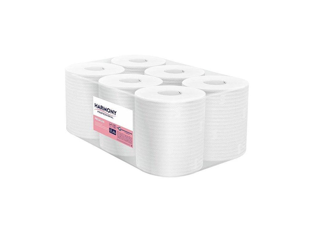 Papírová utěrka v roli Bulky Soft Maxi, 2 vrstvy, návin 108m, celuloza