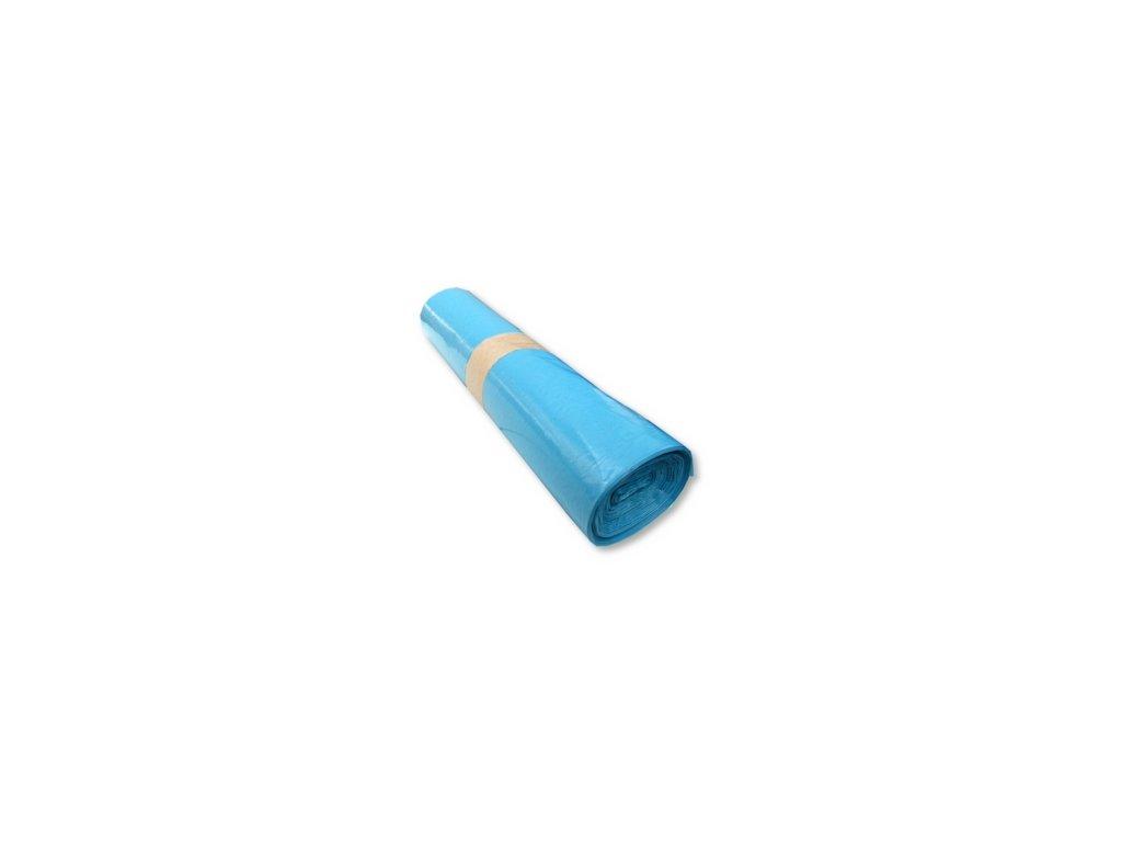 Pytle odpadní 110L, 45mic. zatahovací, 25ks modré