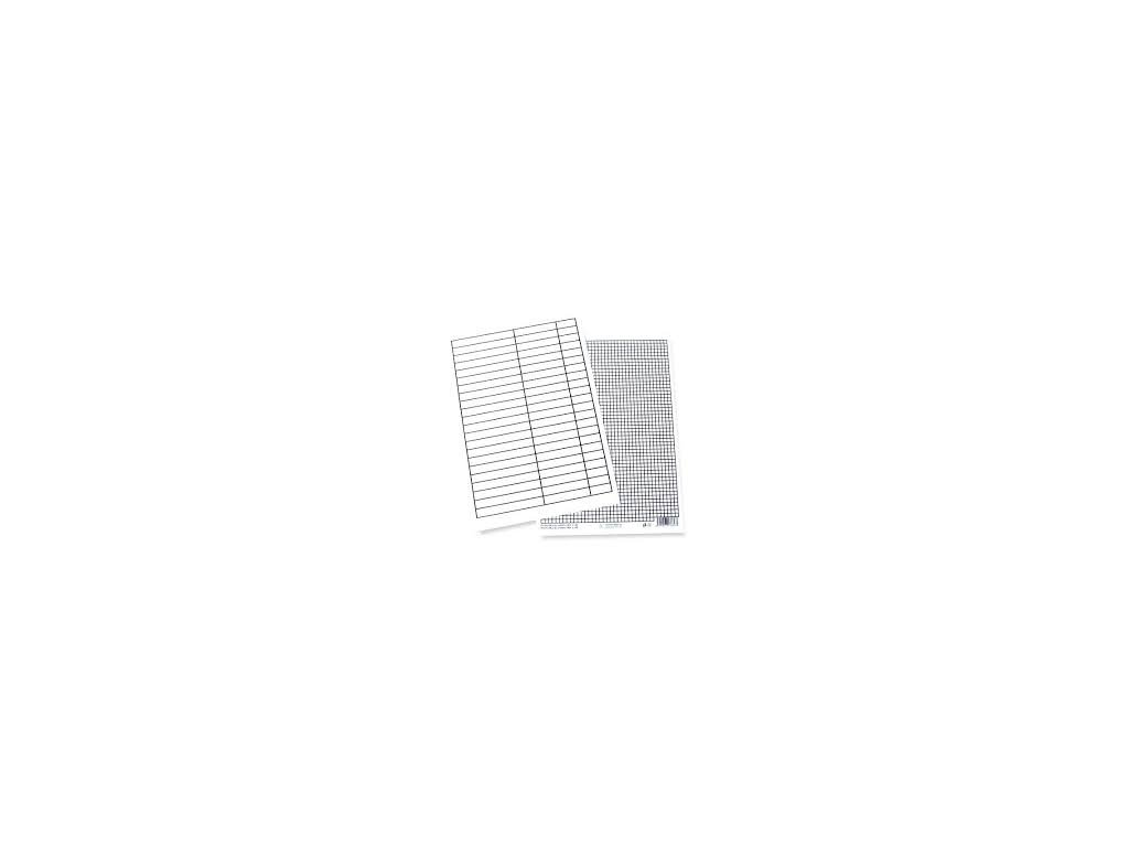 Podložka papírová A5 linka - čtvereček