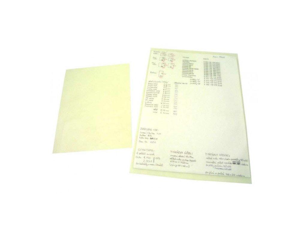 Popisovací složka PVC A4