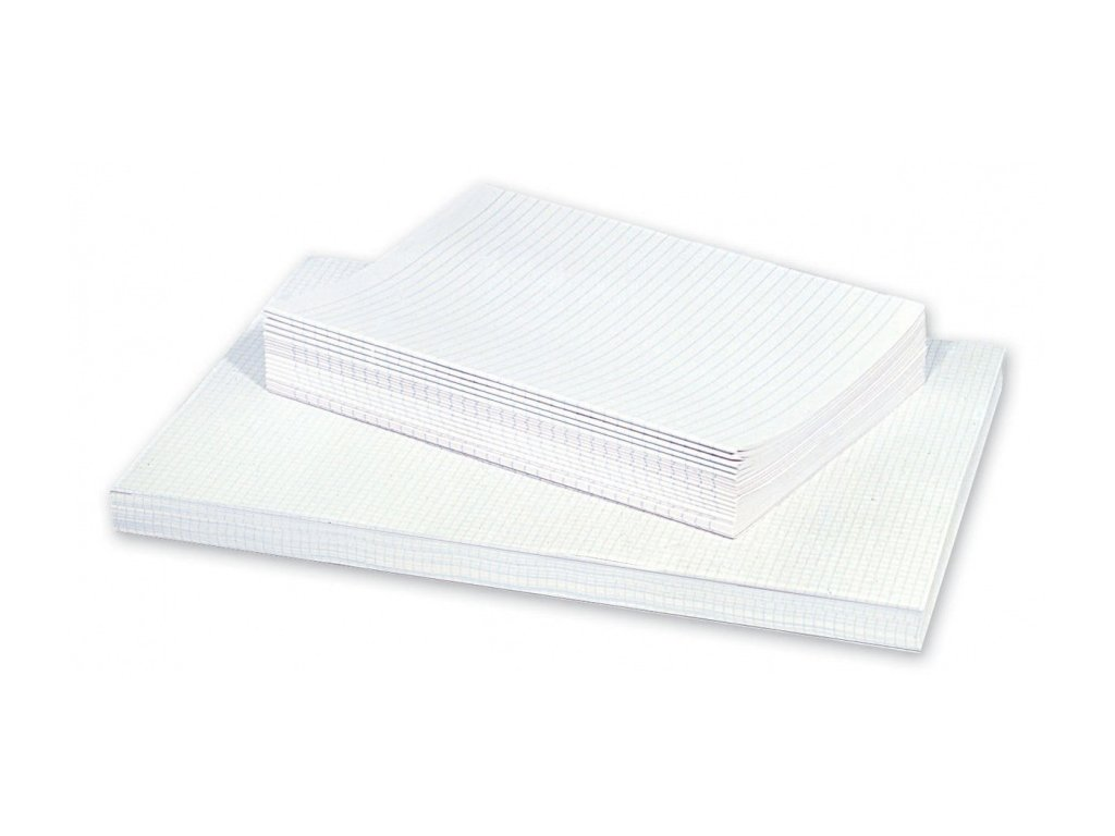 Papír A3 dvojlist čtvereček 250 listů