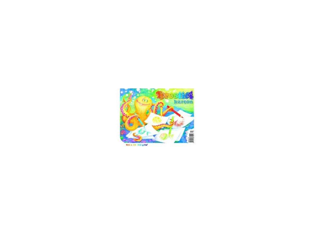 Karton kreslící A4 180g, 200 listů