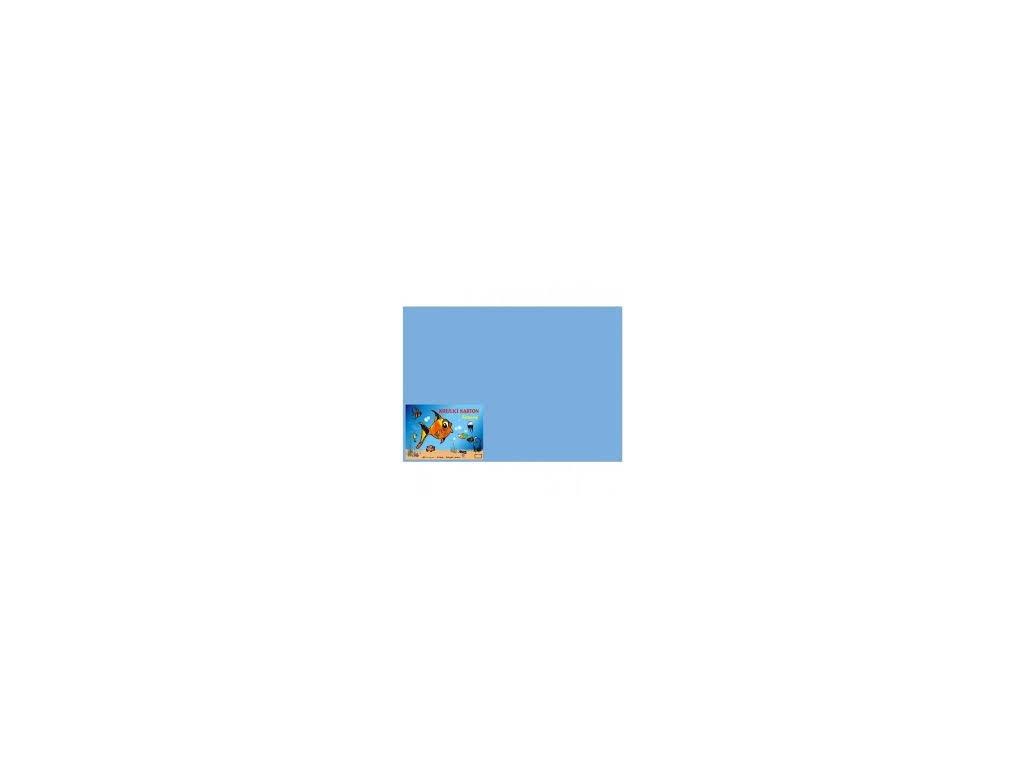 Karton A4 180g, modrý 50 listů