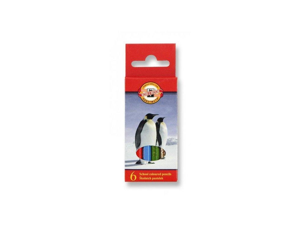 Pastelky KOH-I-NOOR  3545/ 6 krátké