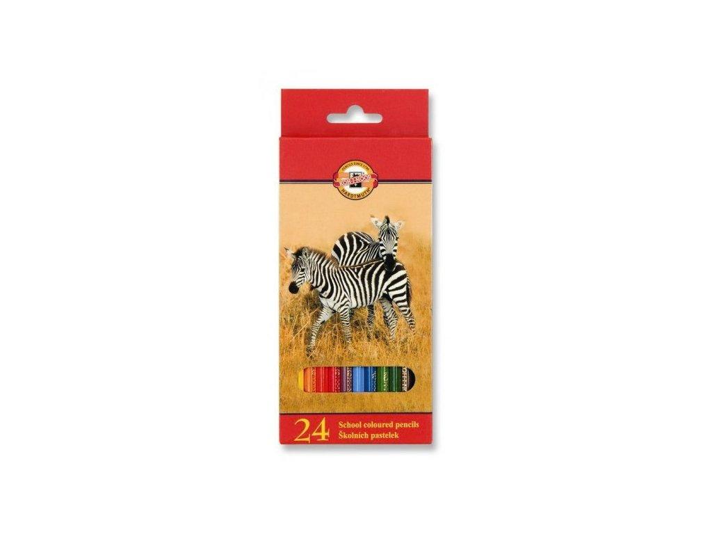 Pastelky KOH-I-NOOR  3554/24