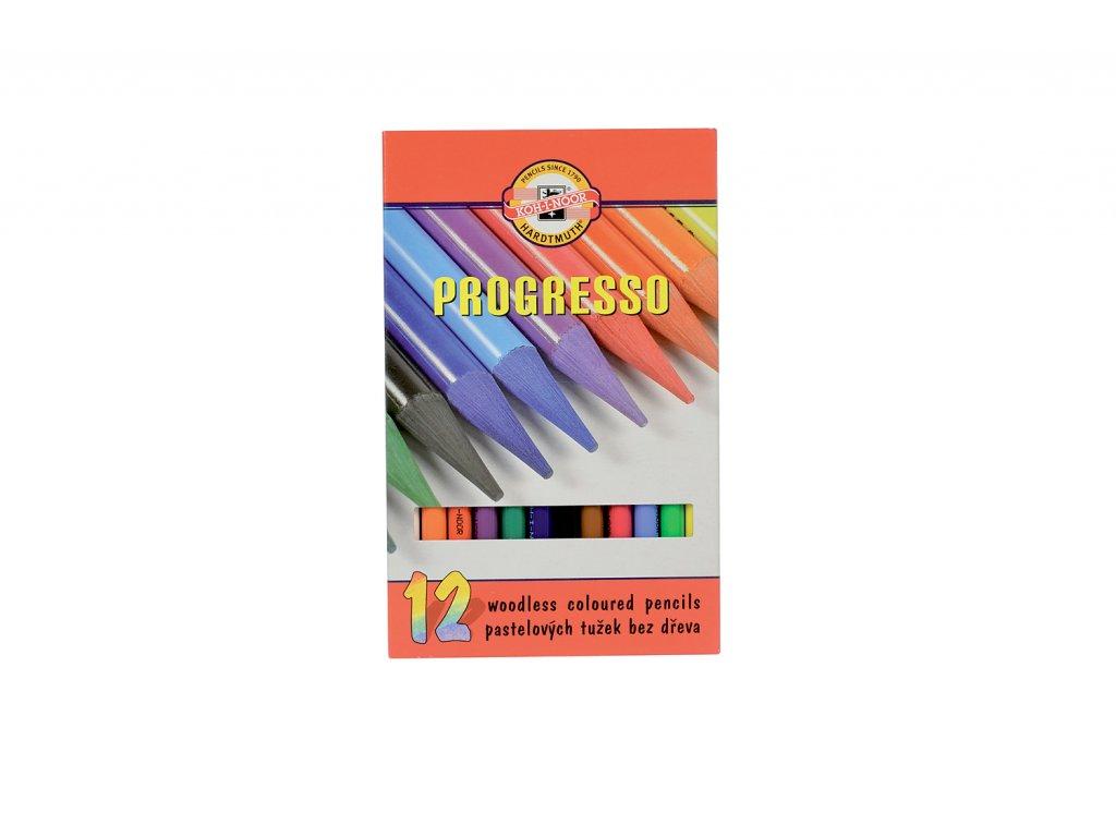 Pastelky KOH-I-NOOR  8756/12 progreso