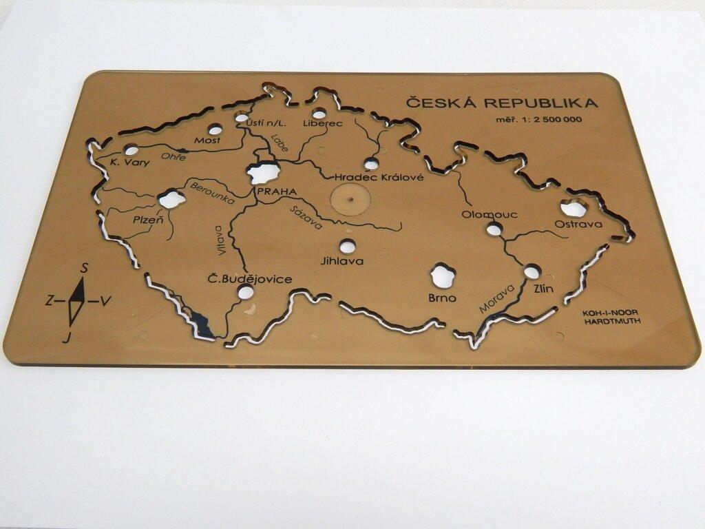 Koh i noor šablona Mapa ČR 703091