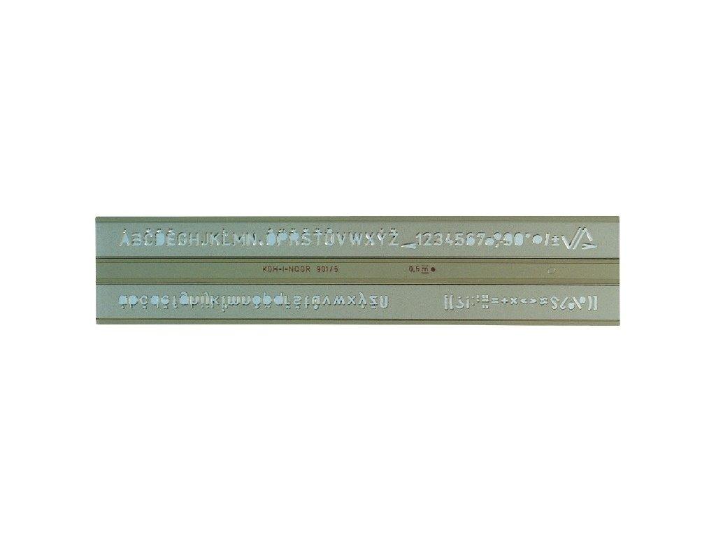 Šablona 0,5cm typ903 technická