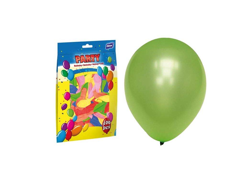 Balónky koule smile 12ks, průměr 23cm, MIX barev