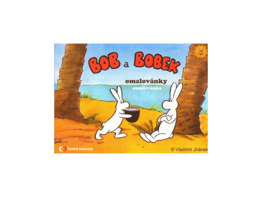 Omalovánky A5 Bob a Bobek