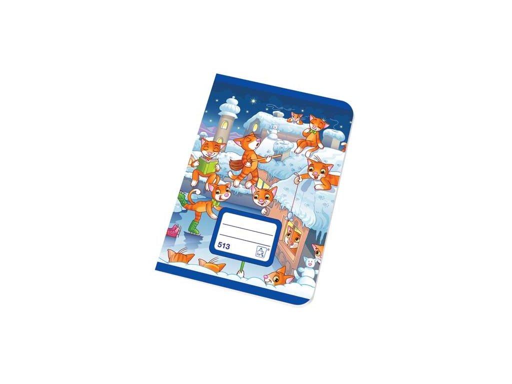 Školní sešit A5 513 K bílé 10 listů