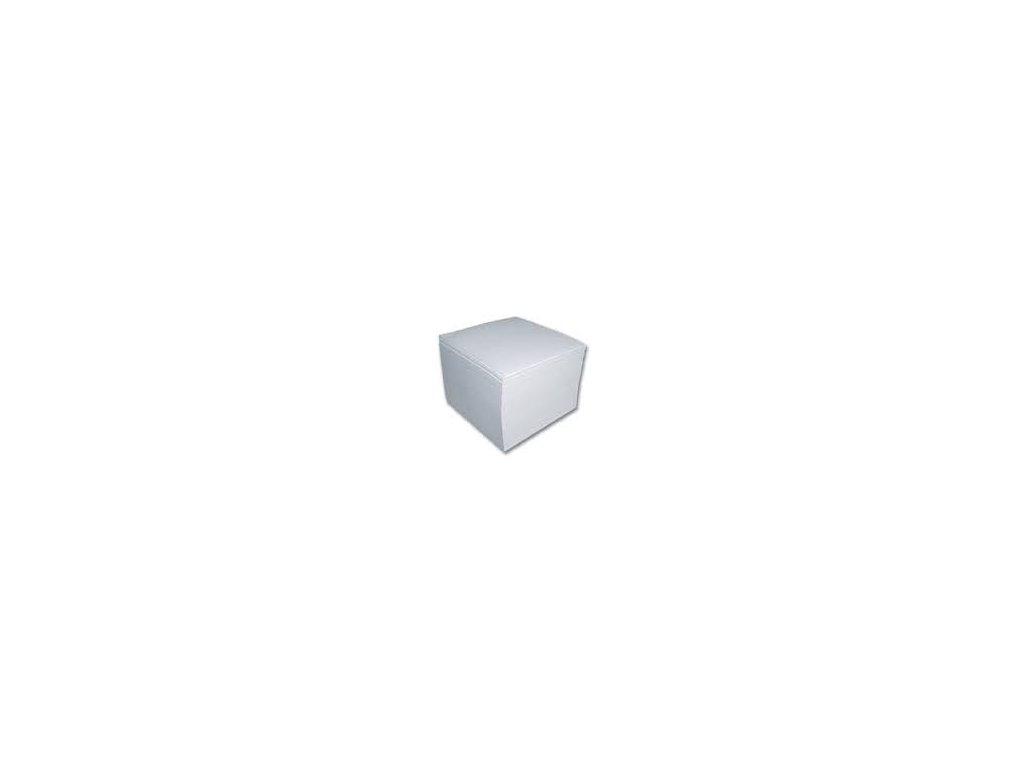 Kostka lepená EKO 9x9x9 cm bílá
