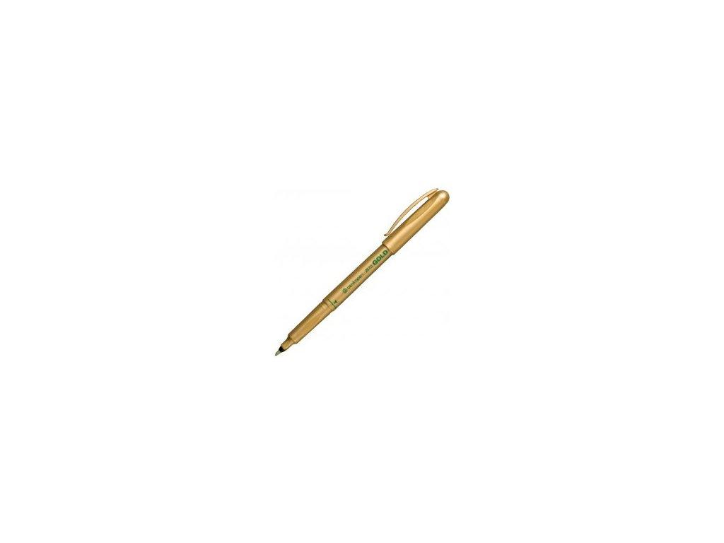 Popisovač Centropen 2670 zlatý 1mm