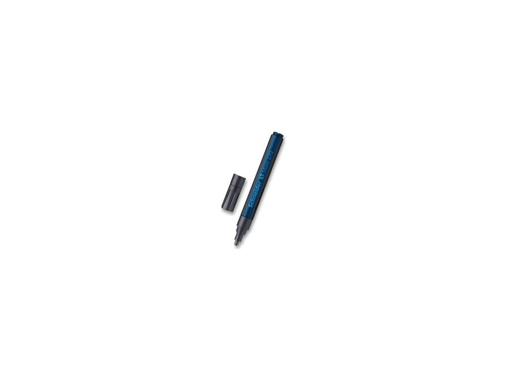 Popisovač Schneider Maxx 270 lakový, 1-3 mm - černý