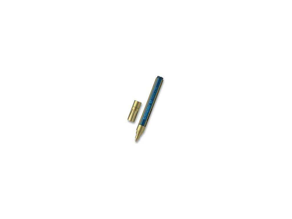 Popisovač Schneider Maxx 270 lakový, 1-3 mm - zlatý