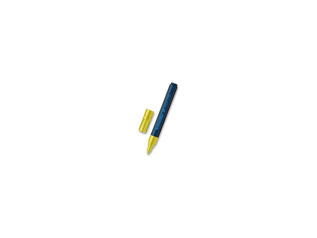 Popisovač Schneider Maxx 270 lakový, 1-3 mm - žlutý