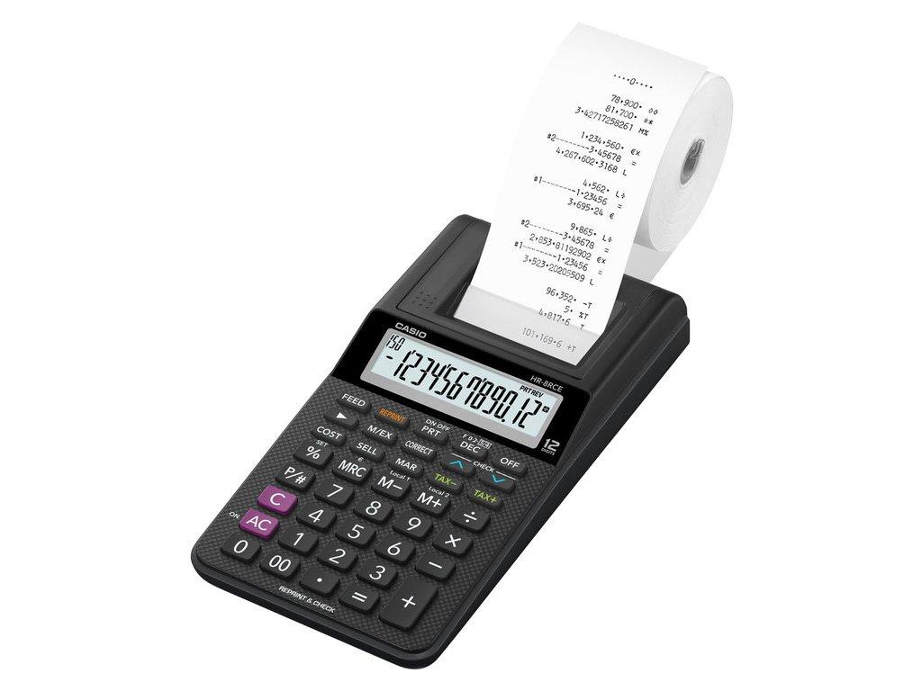 Kalkulačka Casio HR 8 RCE s tiskem