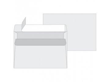 Obálky C5 taška - samolepící bílé s krycí páskou 50ks