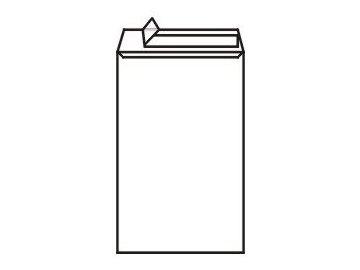 Obálky C4 taška - samolepící bílé s krycí páskou 250ks