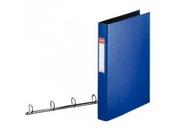 Pořadač Esselte 4 kr. 6cm modrý PP 82405