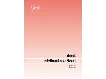 denik zdvihaciho zarizeni a4 op 1227 original