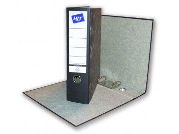 Pořadač závěsný A4 HIT 8cm mramor