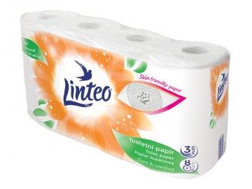 Toaletní papír Linteo Satin, 3 vrstvy, celulóza, 8ks