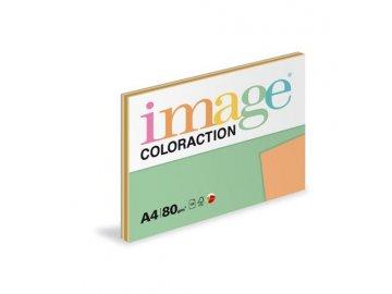 Barevný papír A4 80g  5x20l intenzv. odstíny