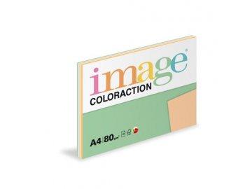 Barevný papír A4 80g  5x20 listů pastelové odstíny