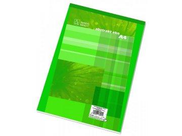 Blok A4 14055 čtvereček s horní spirálou 50 listů