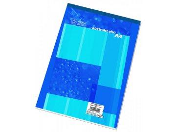 Blok šitý A4 čistý 14050 50 listů