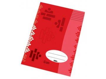 Školní sešit A4 424 linkovaný 20 listů