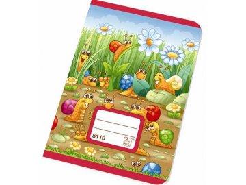 Školní sešit A5 5110 K čtvereček 10 listů
