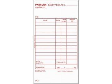 Paragon daňový doklad ET010