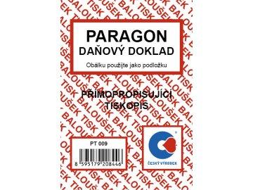 Paragon daňový doklad A7, NCR PT009