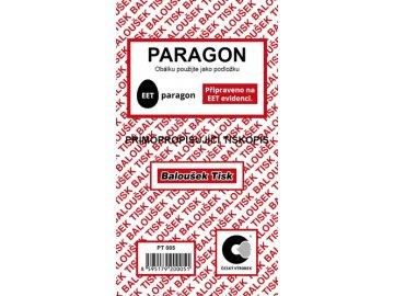 Paragon nečíslovaný NCR PT005