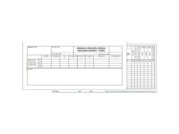 Záznam vozidla nákladní dopravy 2/3 A4 ET220