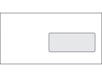 Obálky DL s okénkem, samolepící bílé 50ks