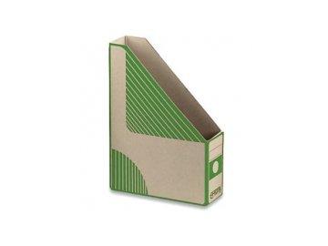 Magazín box A4 EMBA zelený zkosený