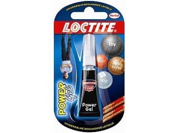 Lepidlo vteřinové Loctite Super Bond Power gel 2g