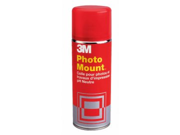 Lepidlo ve spreji 3M Photo Mount 400ml