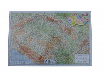 Podložka na stůl - mapa ČR