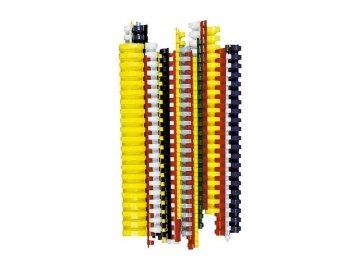 Plastové hřbety pro vazbu 8mm