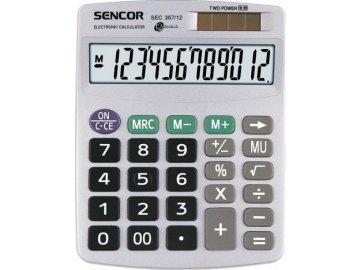 Kalkulačka Sencor SEC 367 12