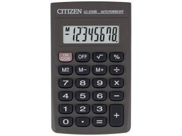 Kalkulačka Citizen LC 310