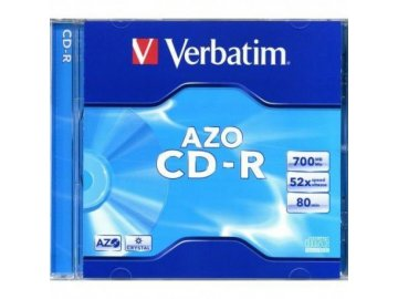 Verbatim CD-R 700MB 52x, jewel 1ks