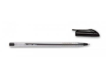 Pero kuličkové Flair 007 jednorázová černá